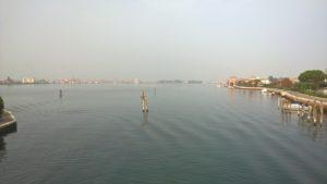 Ponte Baden Powell, Laguna di Chioggia