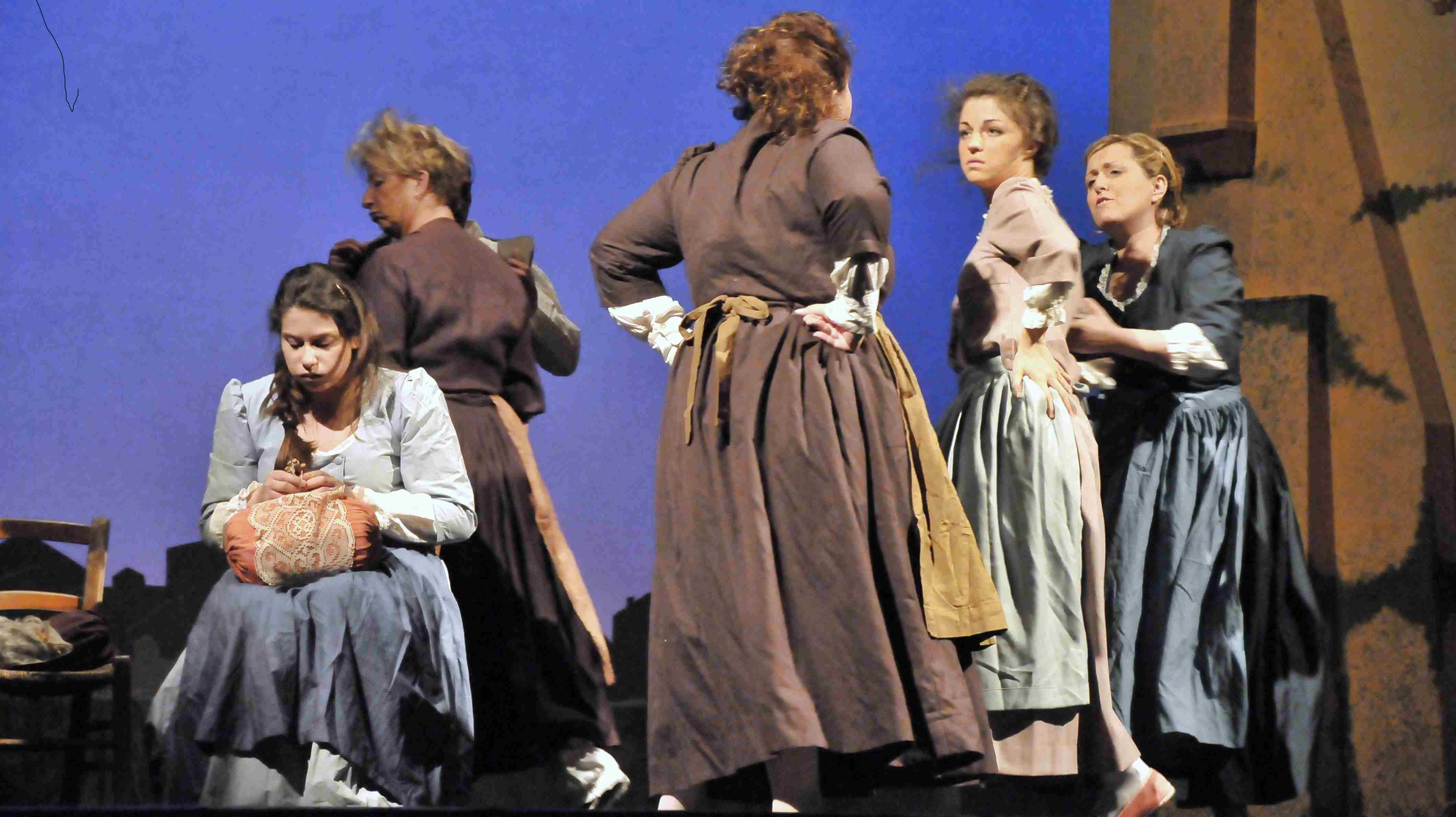 le baruffe chiozzotte lo spettacolo itinerante di Goldoni a Chioggia