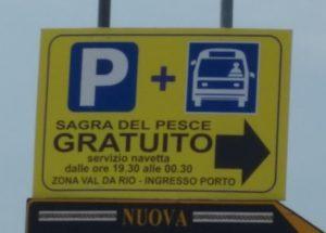 dove parcheggiare Parcheggi sagra del Pesce