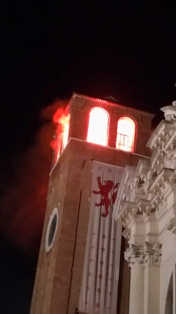 torre di sant'andrea durante la marciliana