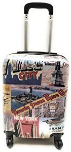 trolley lumi bagaglio piccolo a mano